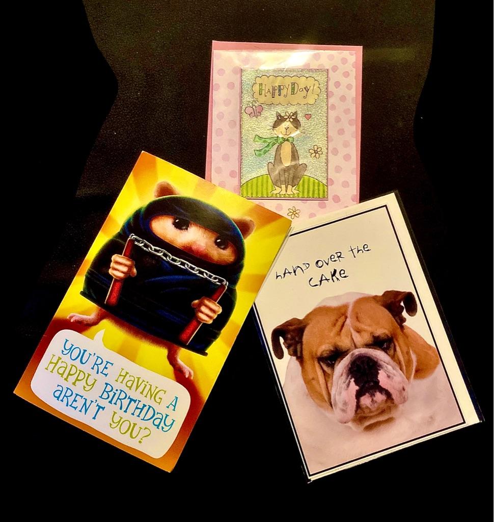 Wide Variety of Hallmark, Papyrus, Trader Joe's Cards