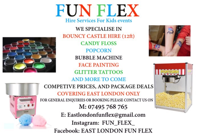 BOUNCY CASTLE POPCORN CANDY-FLOSS AND MORE HIRE SERVCE FOR EVENT