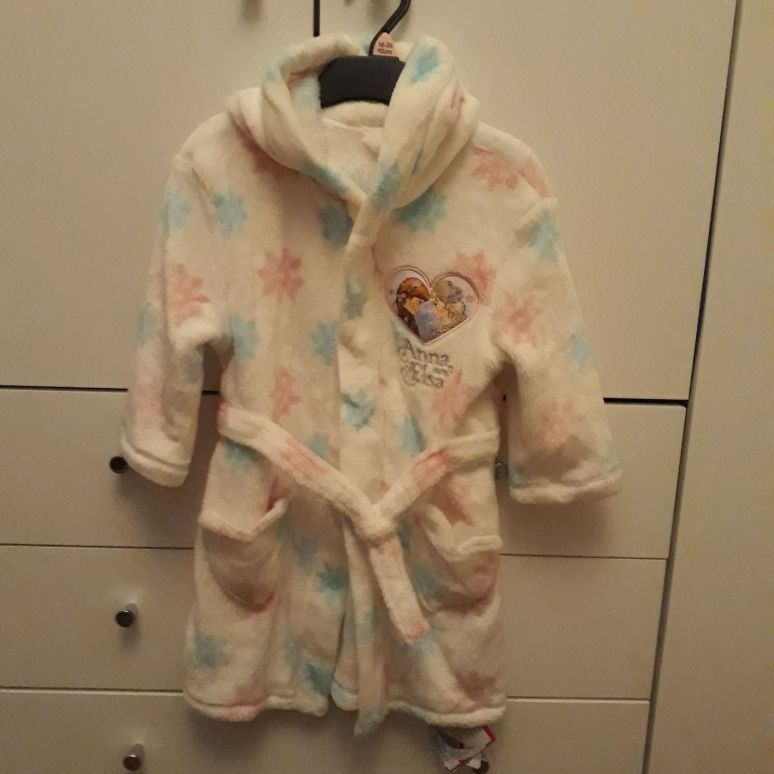 Frozen dressing gown (2years)