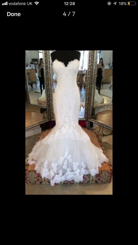 "Enzoani ""Jodie"" Wedding Dress (Altered)"