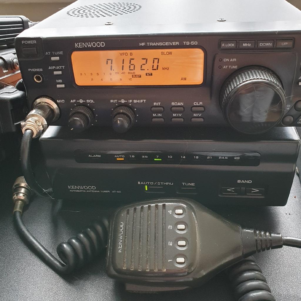 Kenwood TS50 with matching ATU