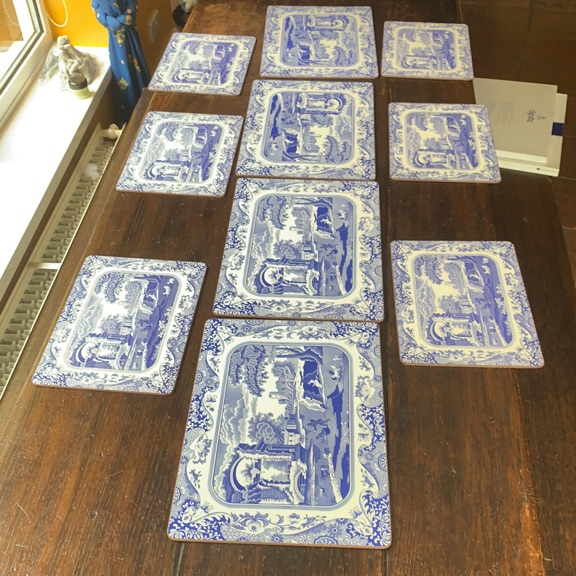 Spode placemat