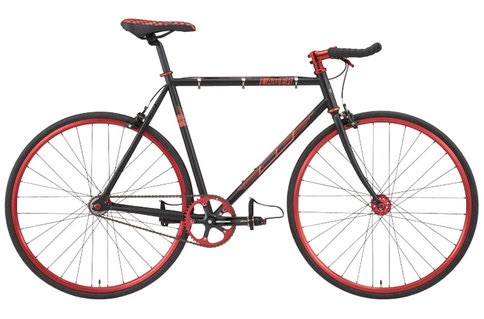 CHEAP ~ lager Single speed~ [ FIXIE FIXED RED BLACK WHITE]
