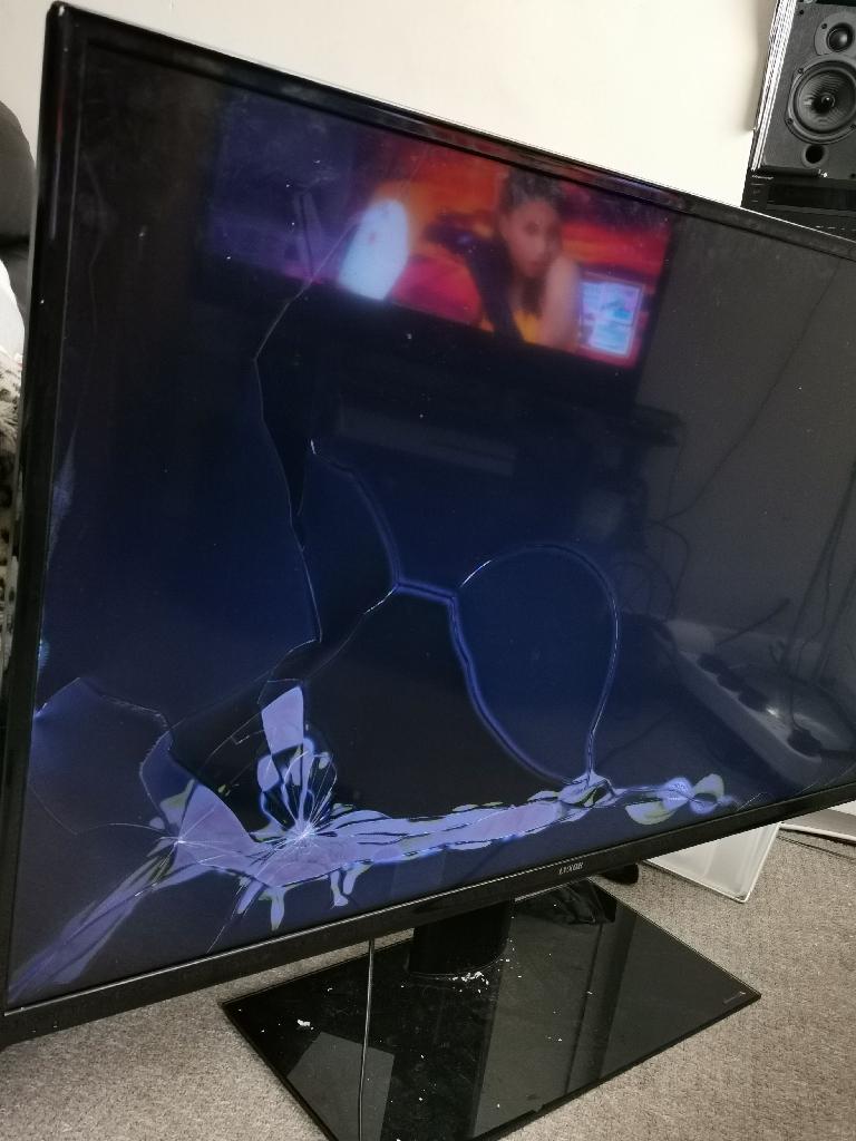 49inch broken tv