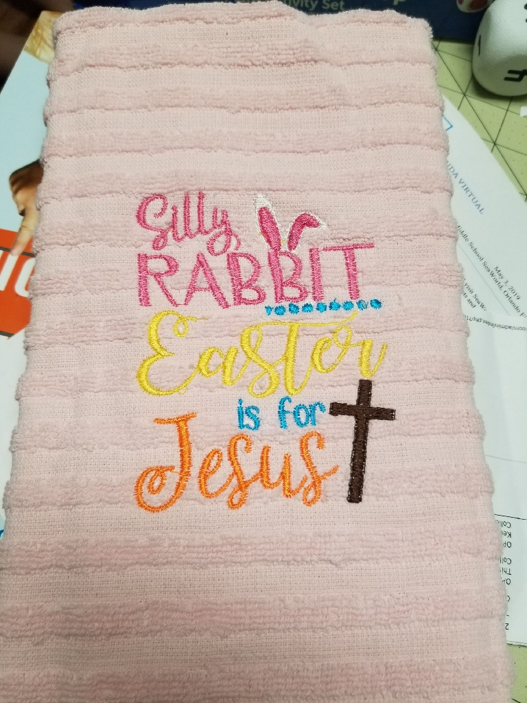 Easter towels