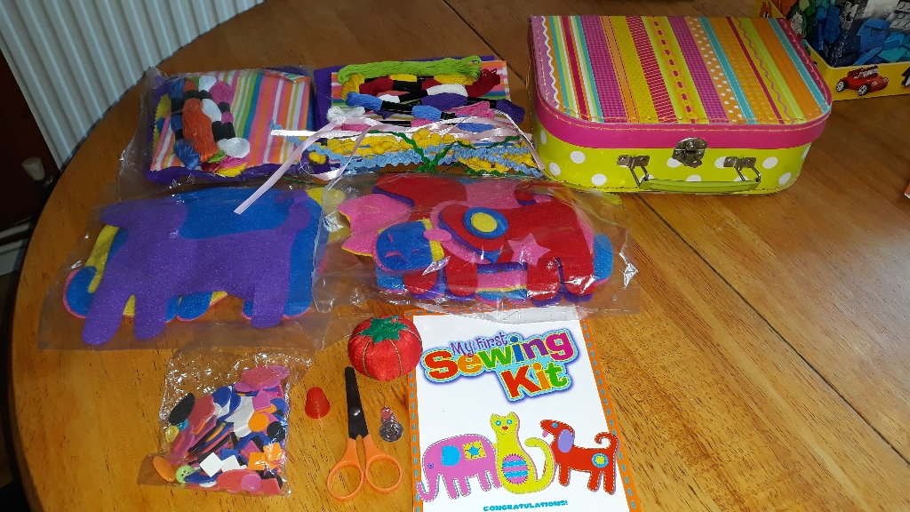 My First Sewing kit + case