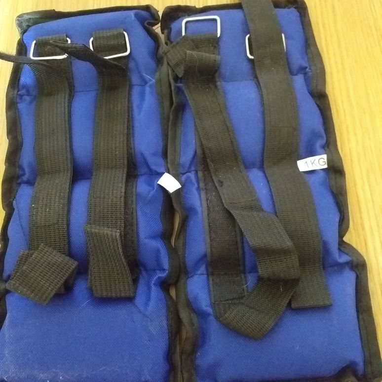 Ankle/wrist weights 1kg 2 pairs
