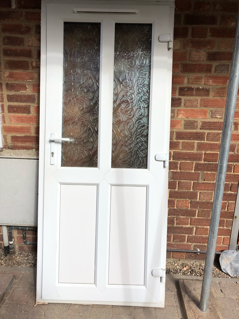 Double glazed door