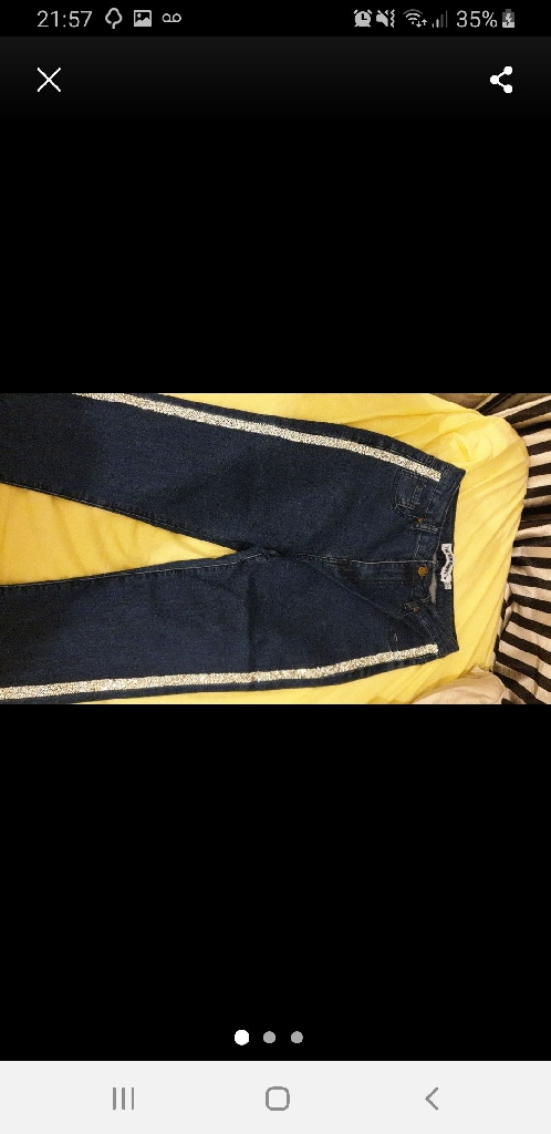 Dimante High waisted jeans (8)