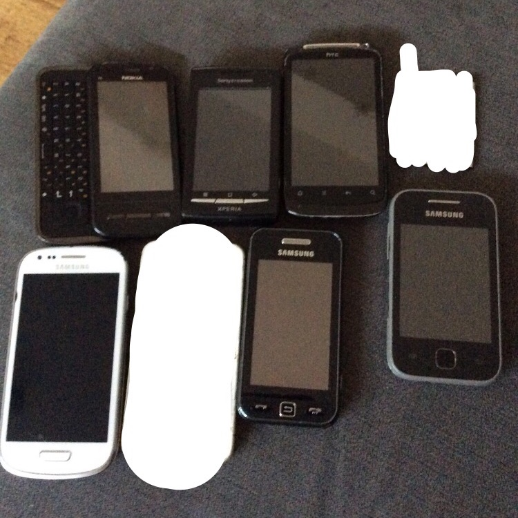 6 Broken Mobile Phones!