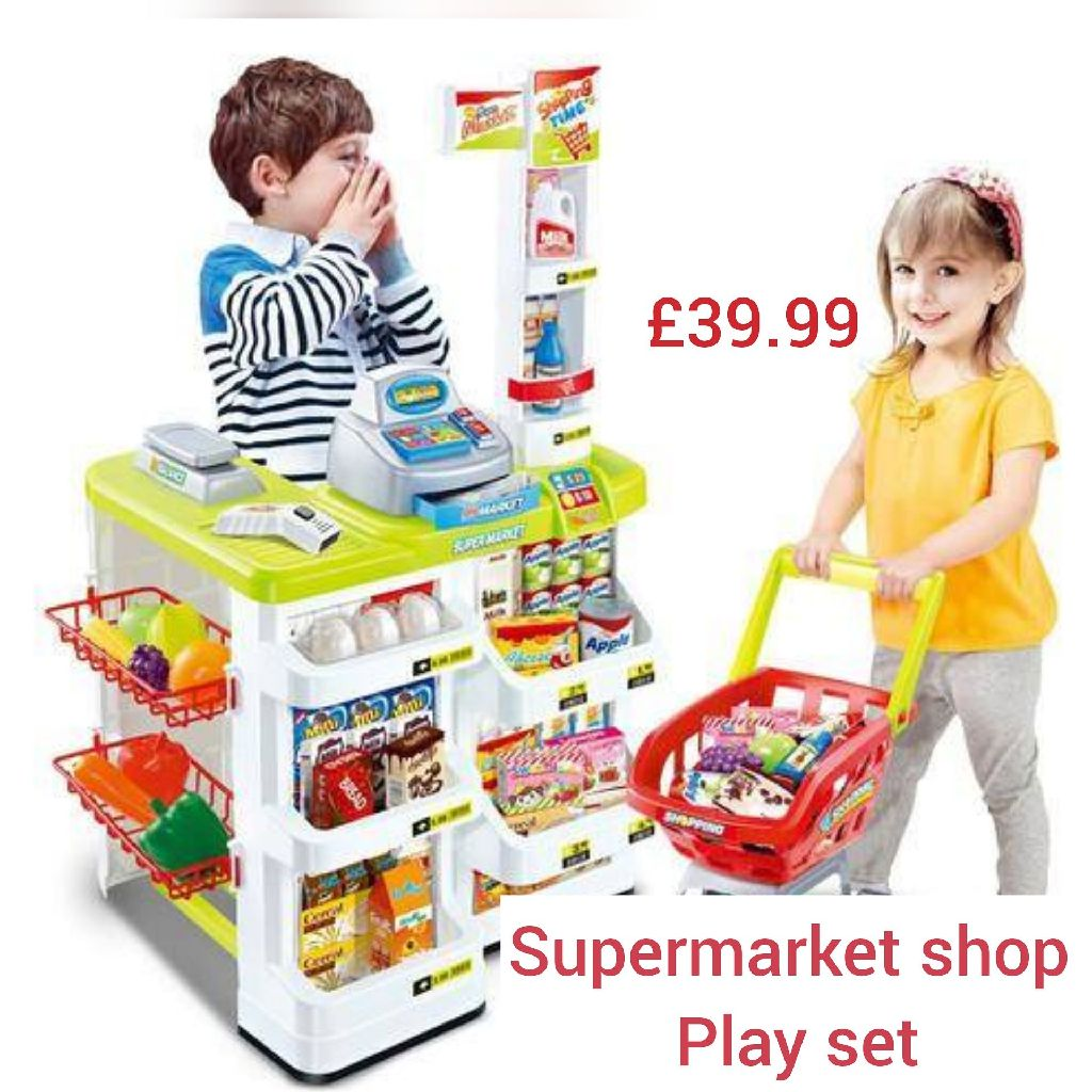 Supermarket  shop playset