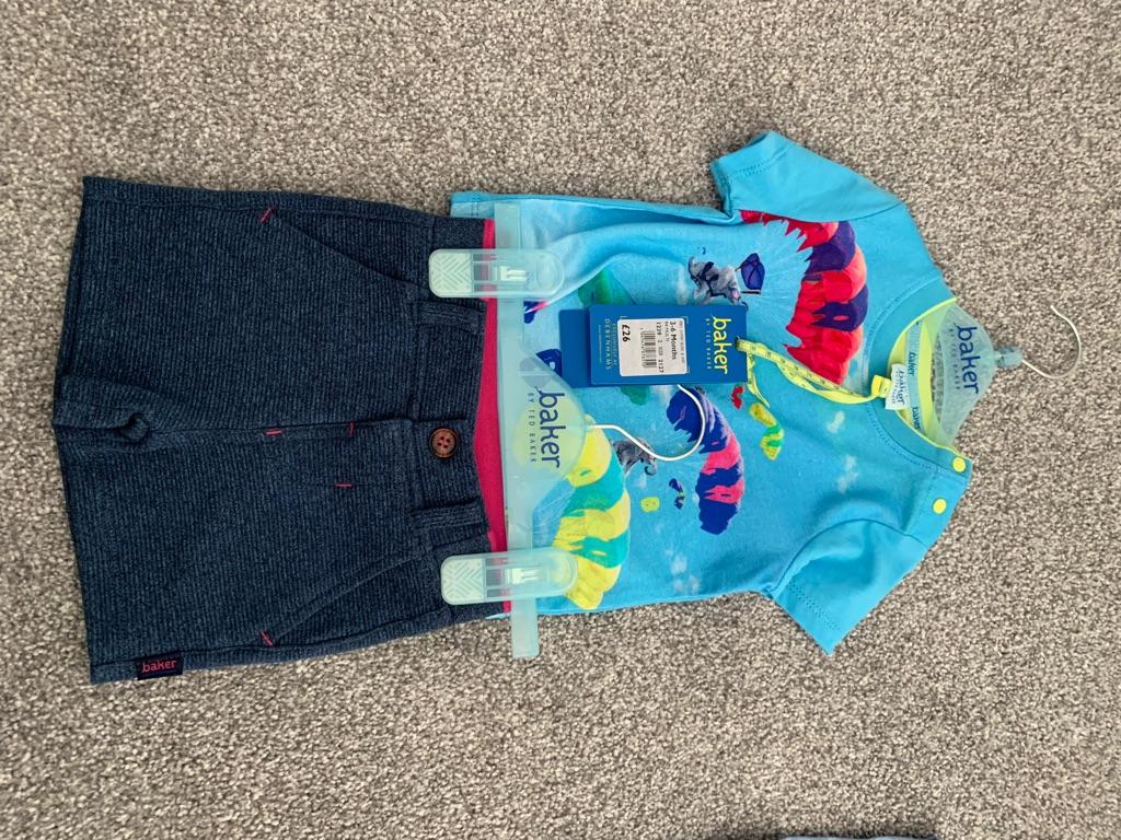 Ted Baker Short and T-shirt set 3-6 months