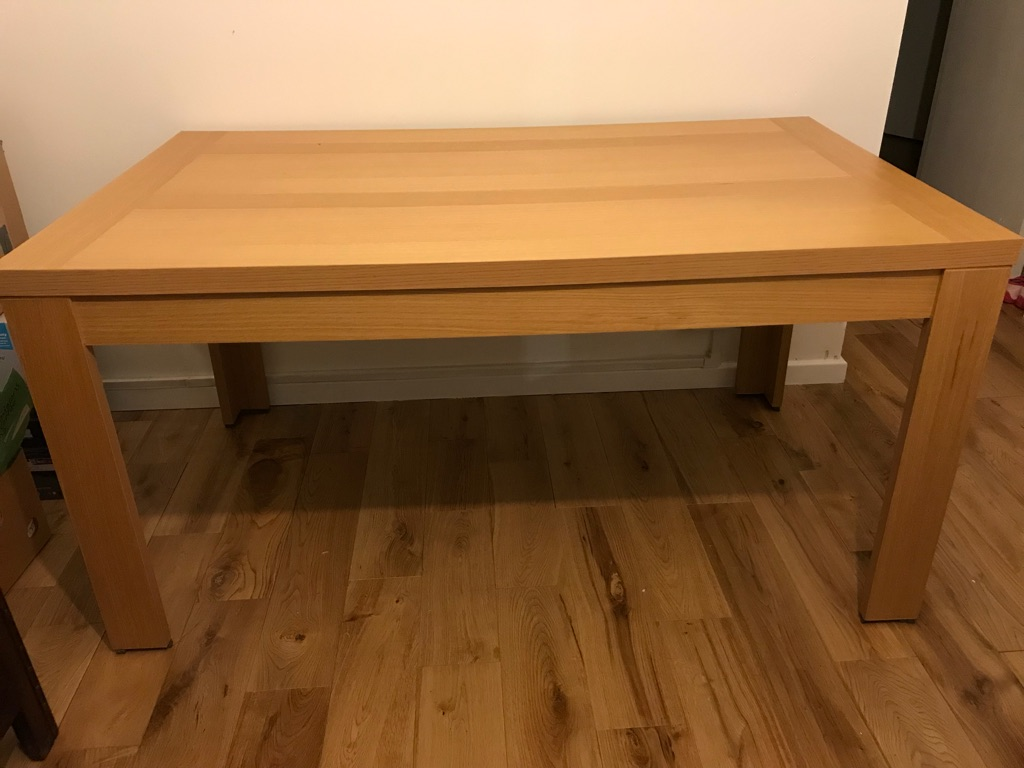 Nearly brand new table without chairs