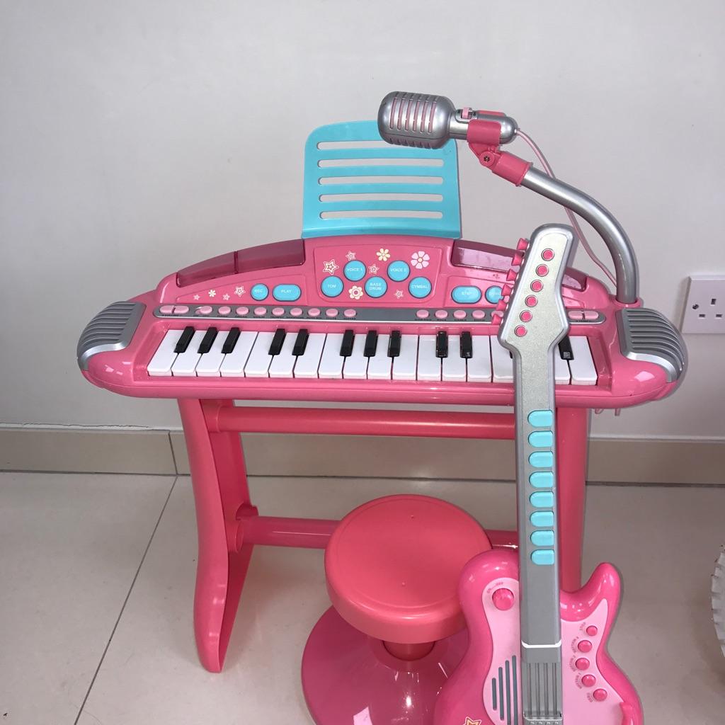 Keyboard&guitar