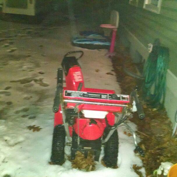 Honda snow blower ha 55