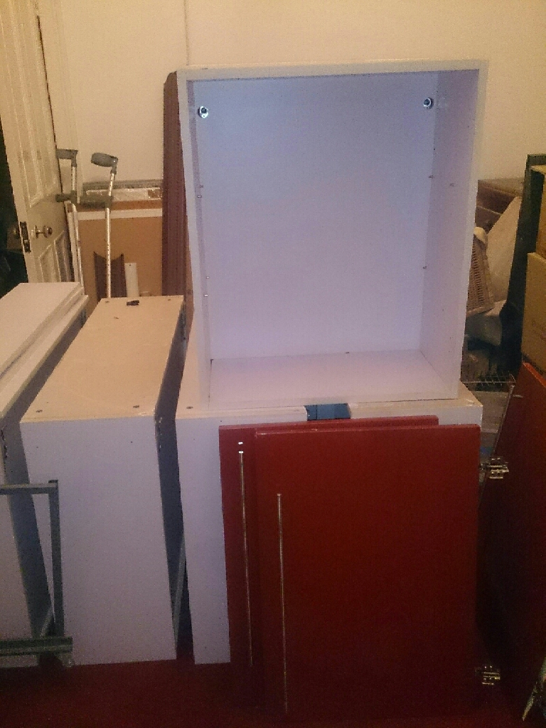 Kitchen cabinets, great condition