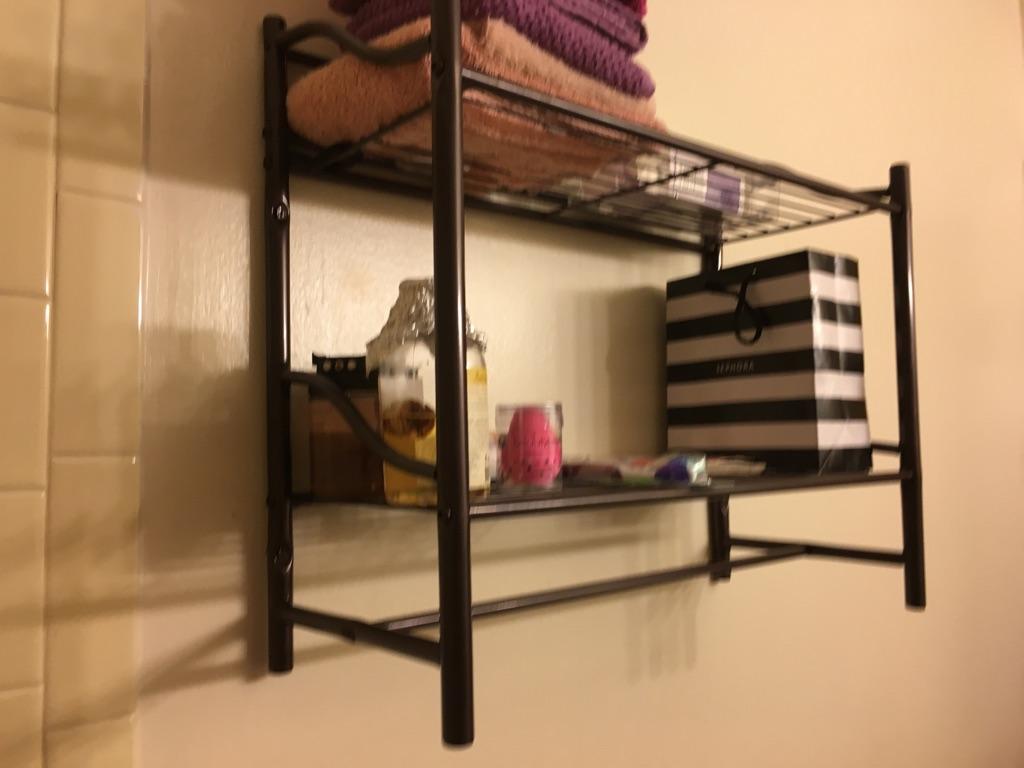 Bathroom shelf/organizer