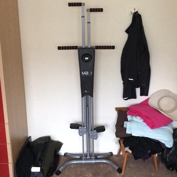 MaxiClimber stepper home fitness machine