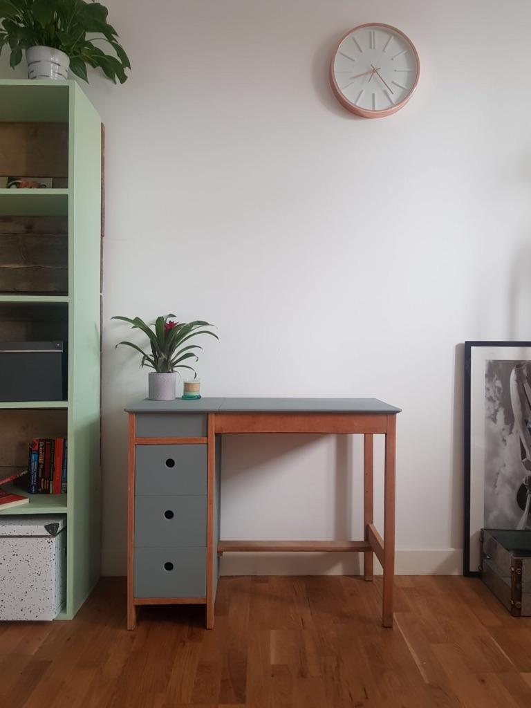 Retro/vintage refurbished desk/vanity table