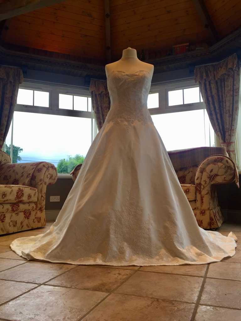 Brand new V11 collection wedding dress