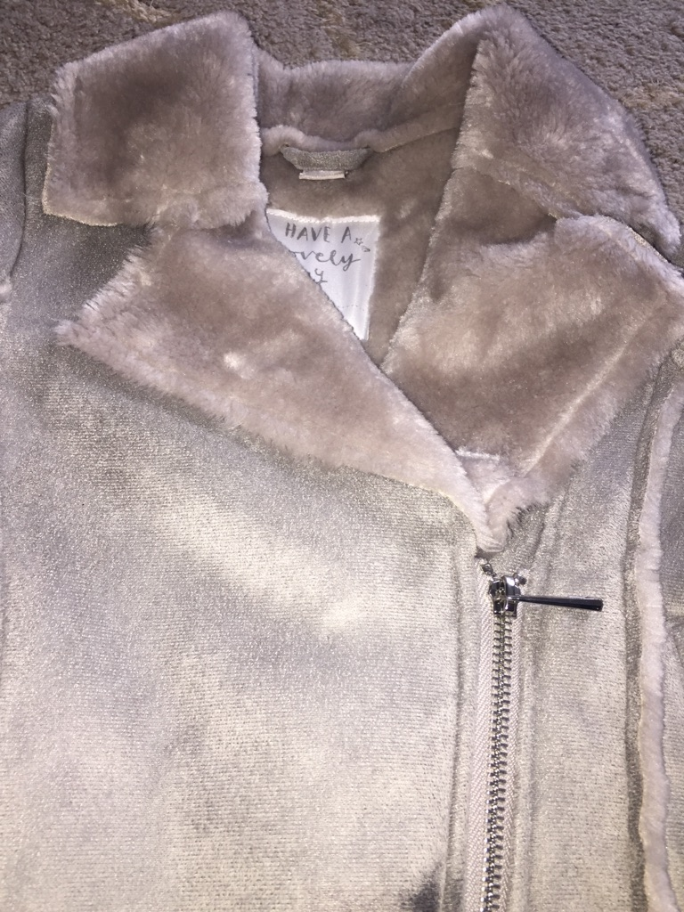 Fur Suede Jacket