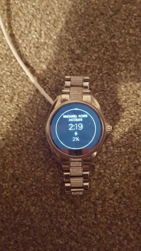 Women's Michel kors smart watch