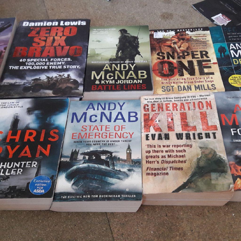 Army ,sas books
