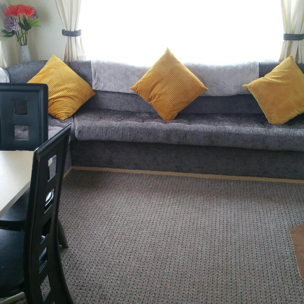 8 berth 3 bedroom static caravan for hire at lyons robinhood site rhyl