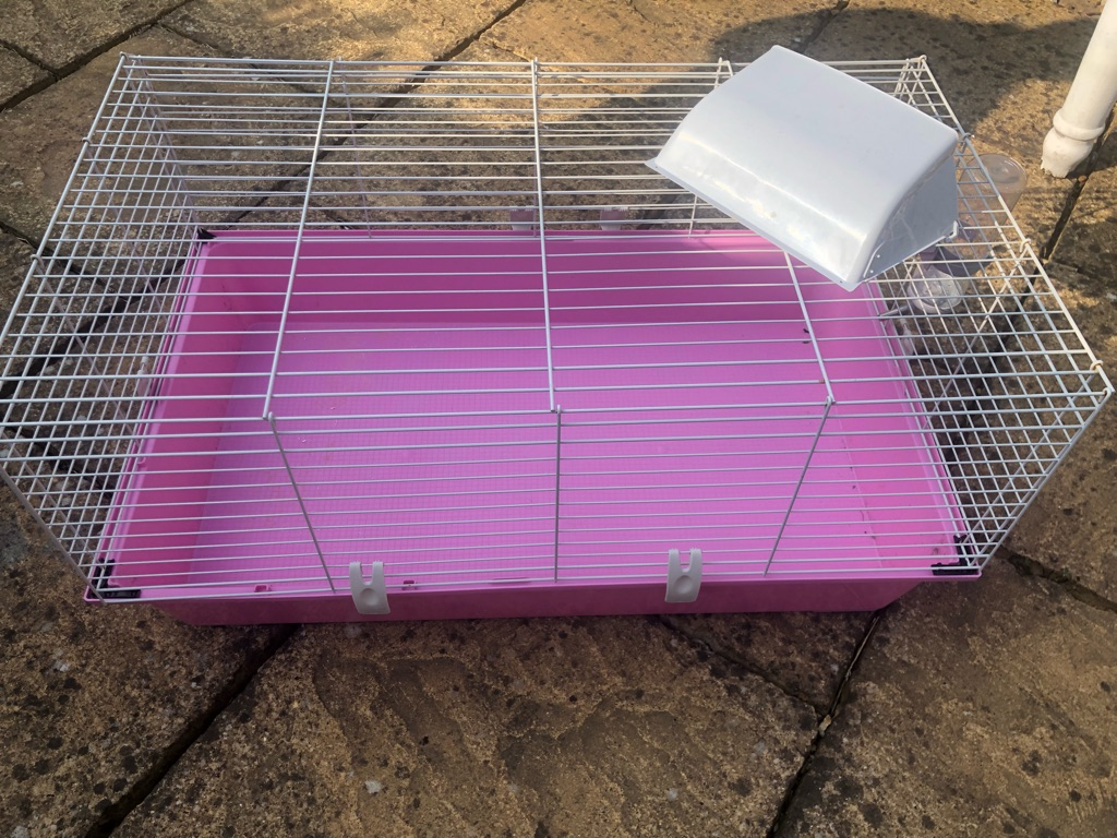 Pets at home rabbit/guinea pig hutch