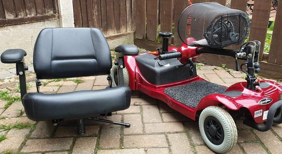 Freerider mobility scooter