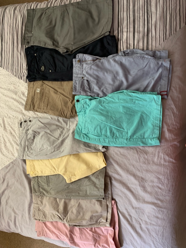 Men's shorts in perfect condition