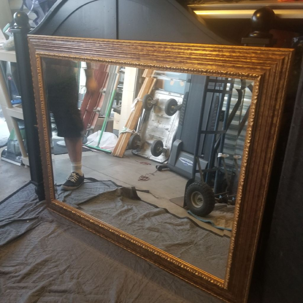 Very large beautiful mirror