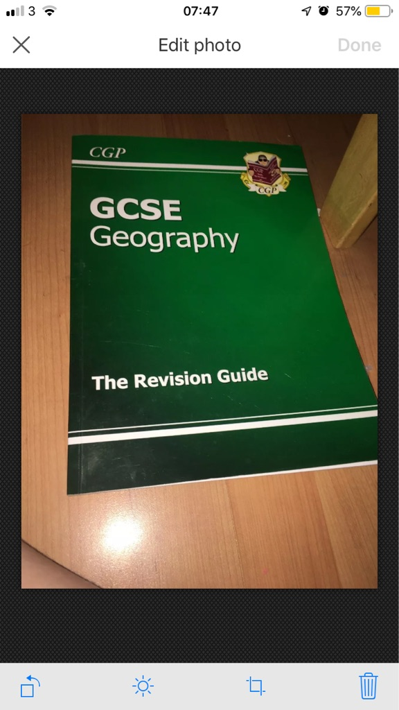GCSE Geography book