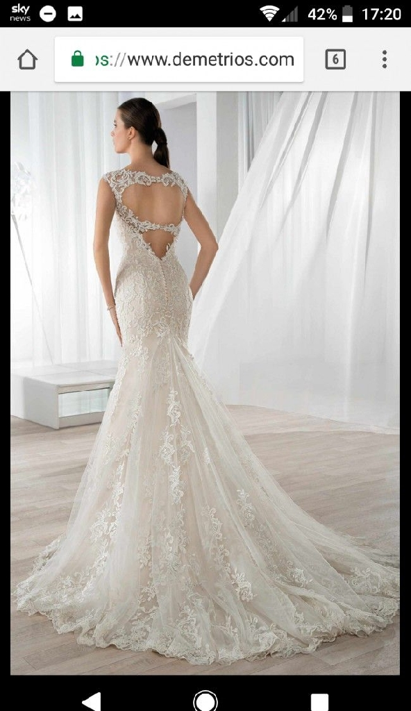 Demetrios 585 wedding gown