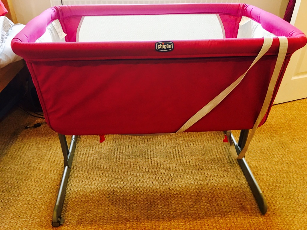 Chicco next to me cot/crib Pink