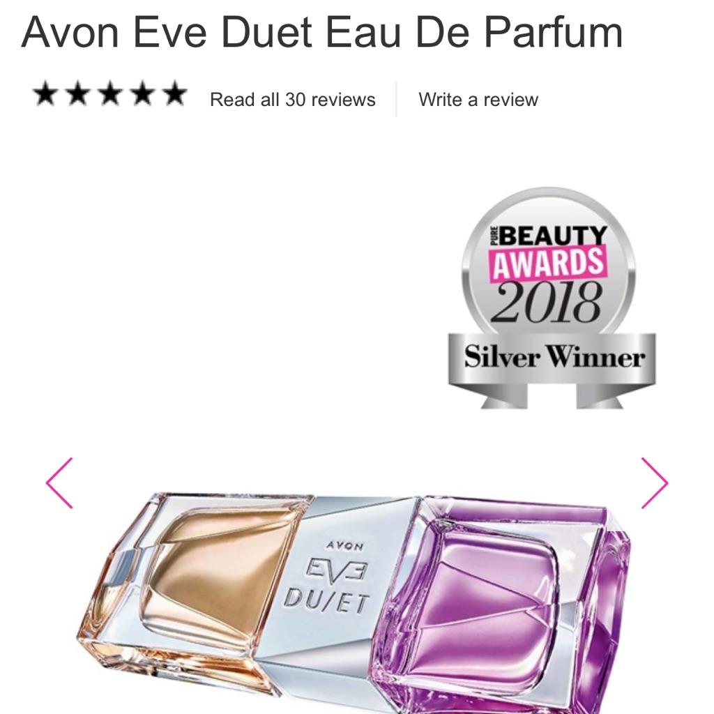 Avon eve duet perfume