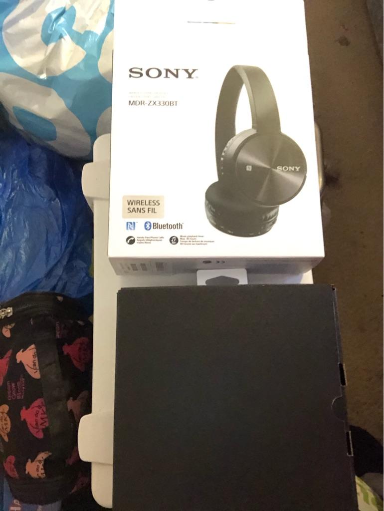 Sony Bluetooth headphones wireless