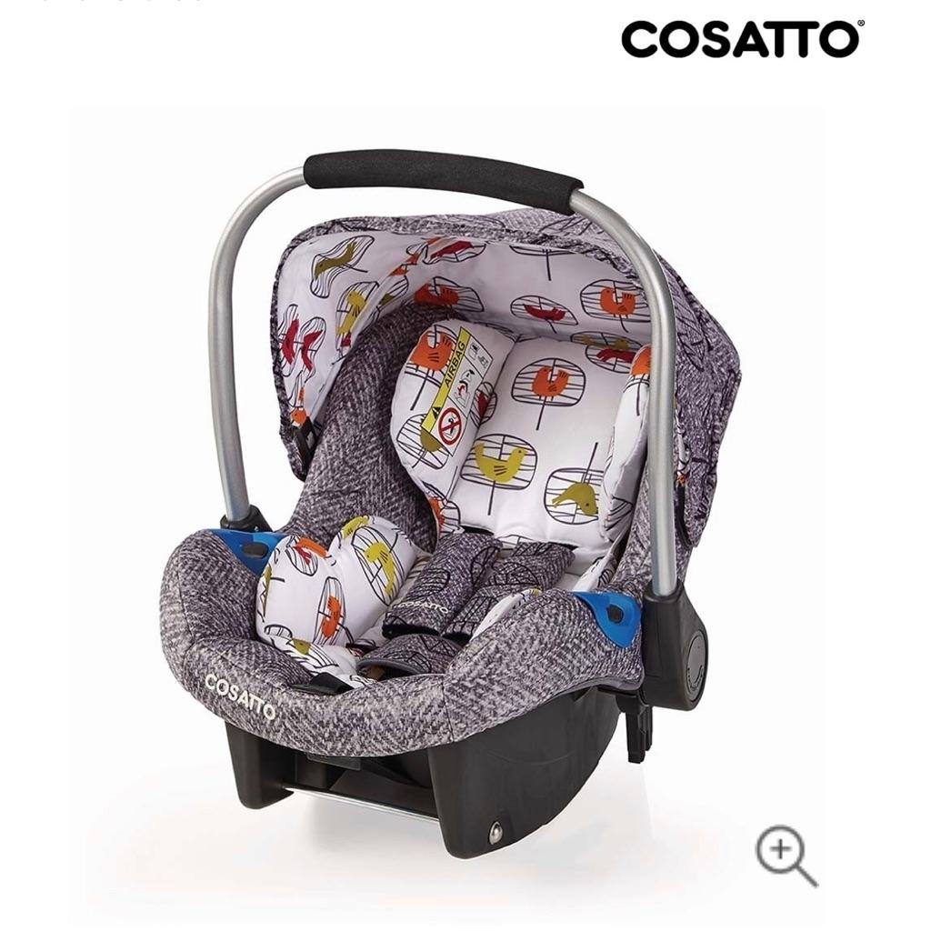 Brand new cosatto wow car seat