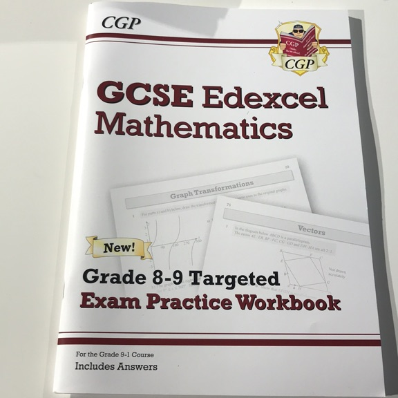 GCSE EDEXCEL MATHS 8-9 WORKBOOK