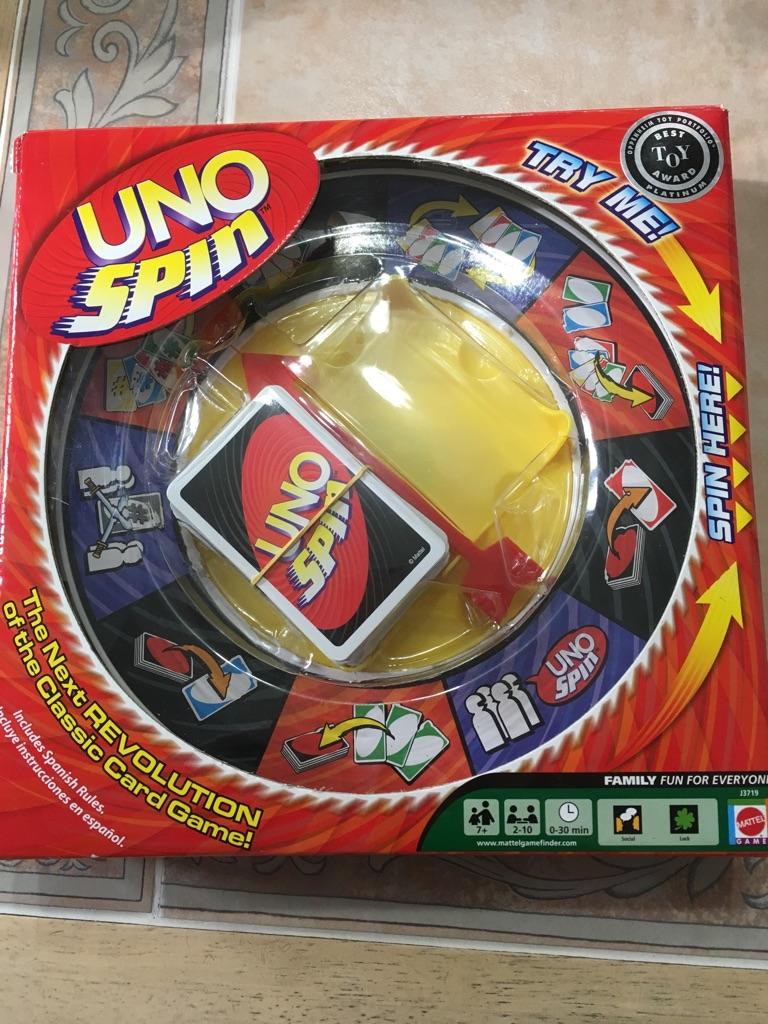Mattel's Uno Spin Game