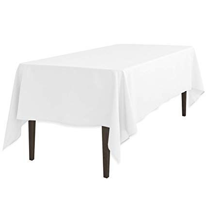 Rechtangle table cover for hire