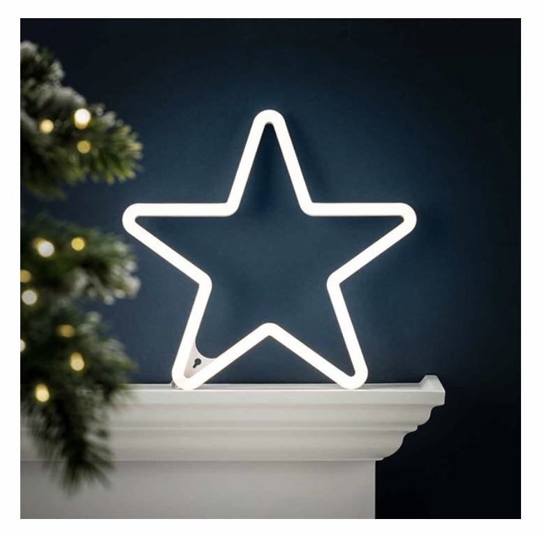 Neon Star 🌟 reduced from £10 down to £7🌟