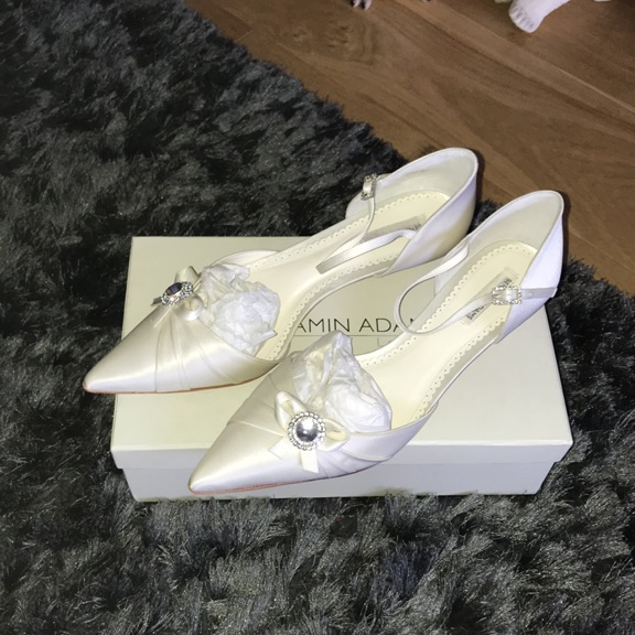 Beautiful Benjamin Adams Wedding Shoes