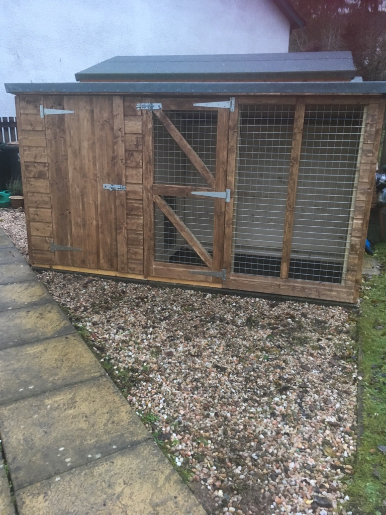 Dog kennels built to order