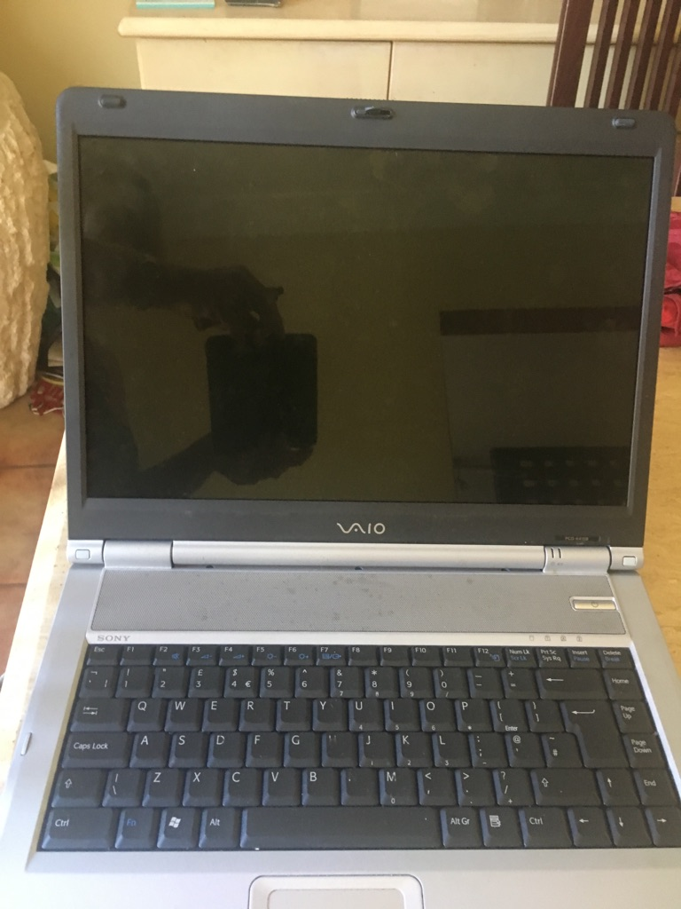 Laptops for spares
