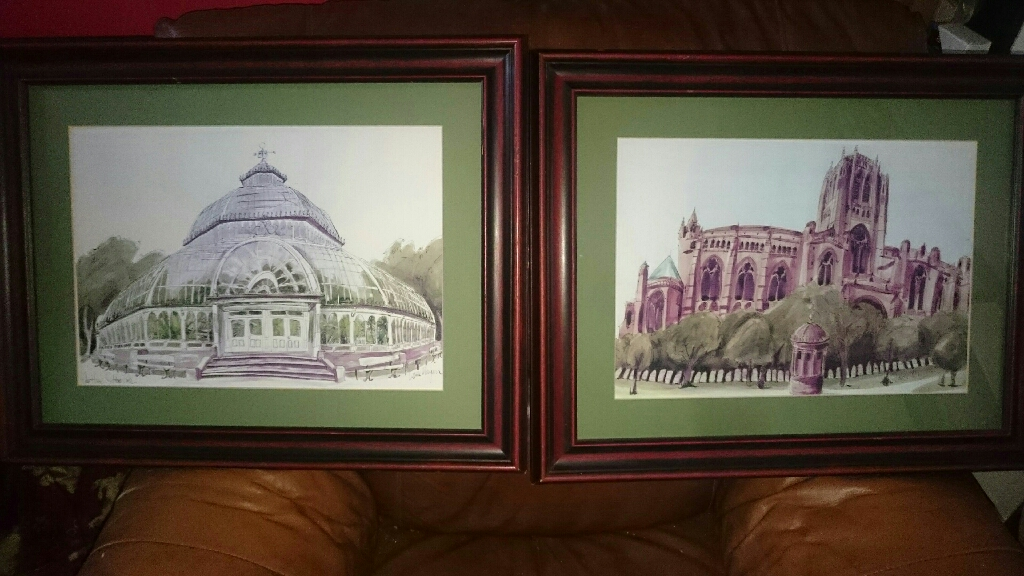 Liverpool framed pictures
