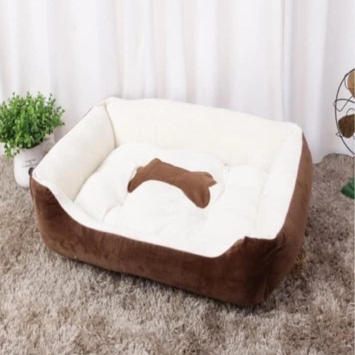Deluxe foam dog bed