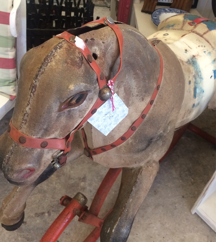 Gorgeous Vintage Rocking Horse