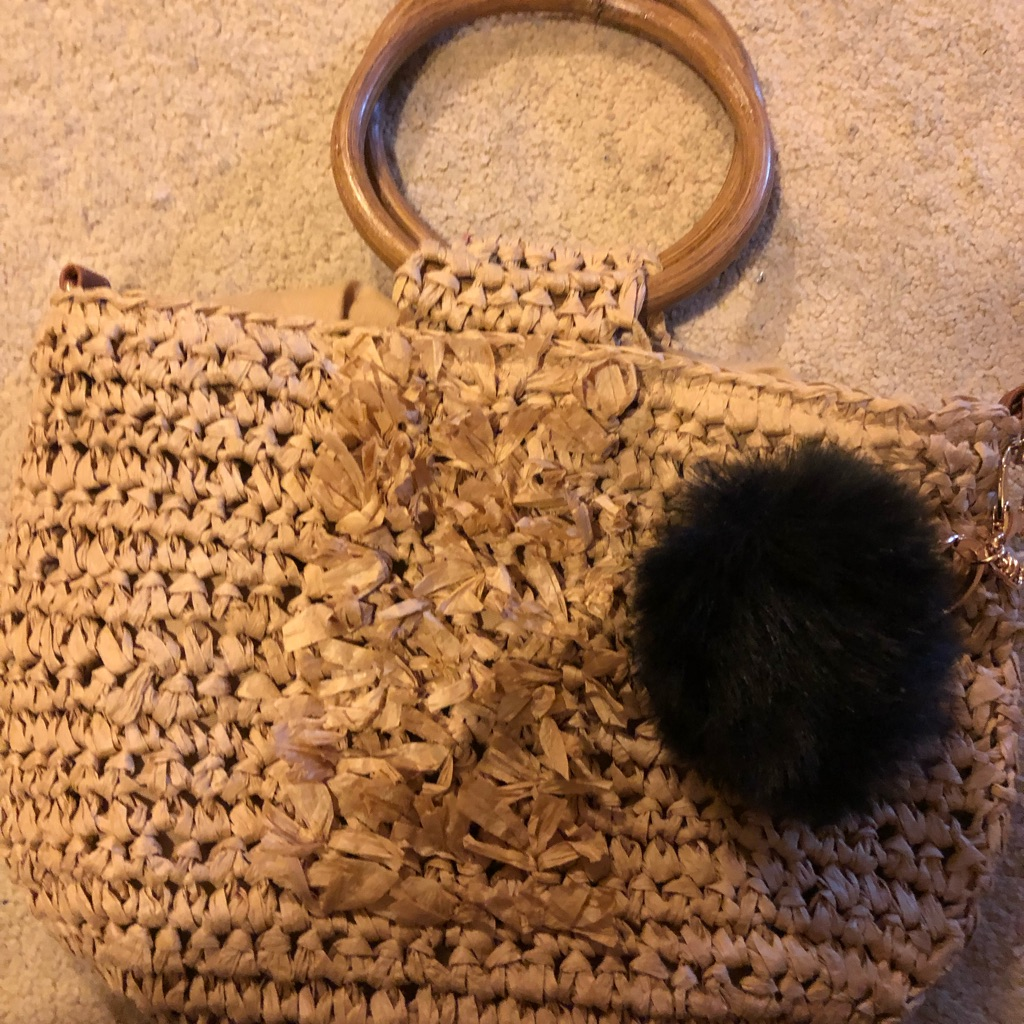Bag with Pom Pom