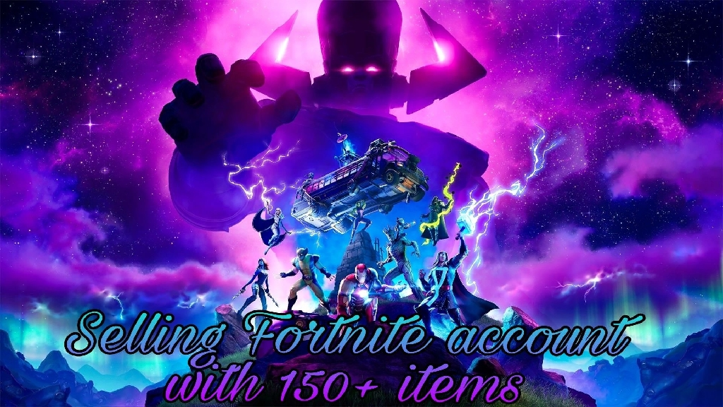 ✨Fortnite account with 150+ items✨